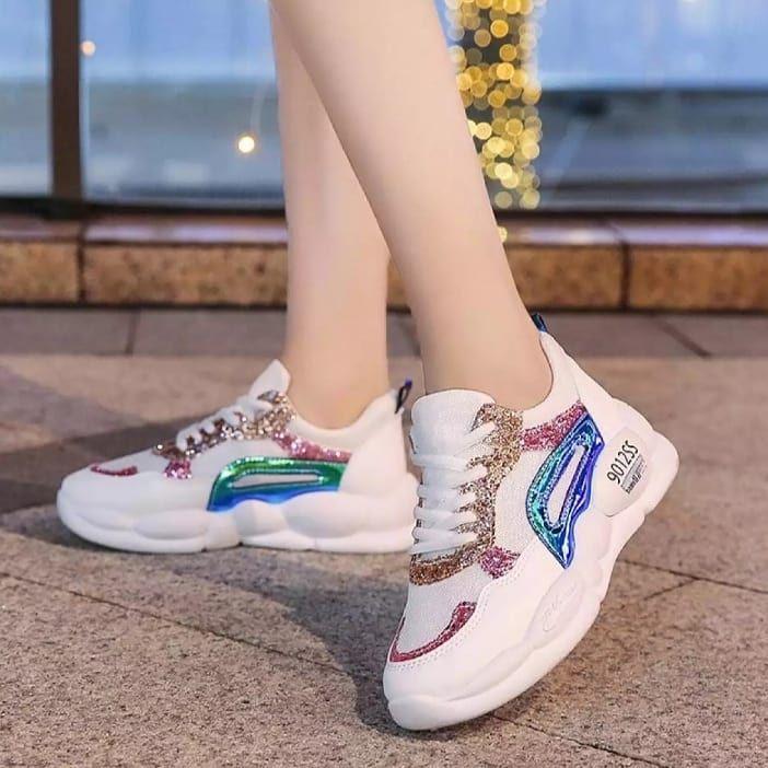 Sofiya Merupakan Sepatu Wanita Sport Import Bahan Upper Atas