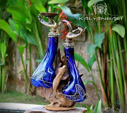 "Expensive gifts for men. Premium Hookah ""Shanti"" by Kalyanbali.  #hookah #shisha #kalyanbali"