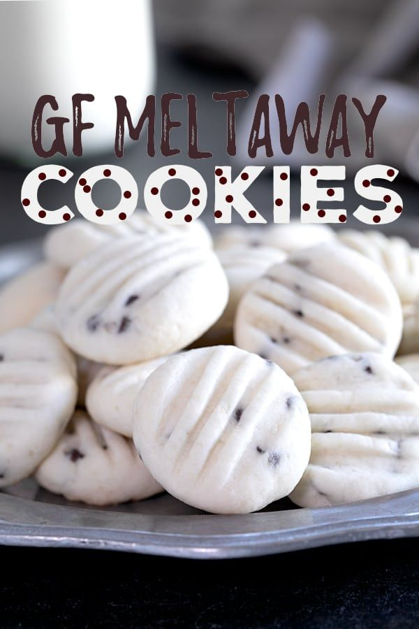 Gluten Free Meltaway Cookies Gluten Free Christmas Recipes