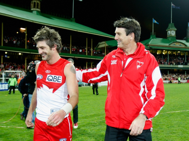 "30 Defining Moments in Sydney    #29 - Brett Kirk and Paul Roos' last SCG game, 2010    ""I just always had a burning desire to play AFL football and nothing was going to get in my way,"" - Brett Kirk    Read more here: http://bit.ly/JQio5C"