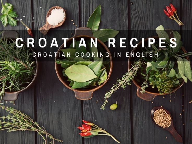 Croatian cooking made easy. As we find the best Croatian recipes in English, we'll share them with you.