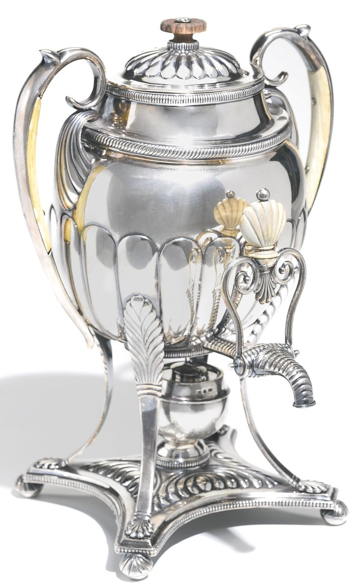 A silver hot water urn, Carl Savary, St Petersburg, 1826 | lot | Sotheby's