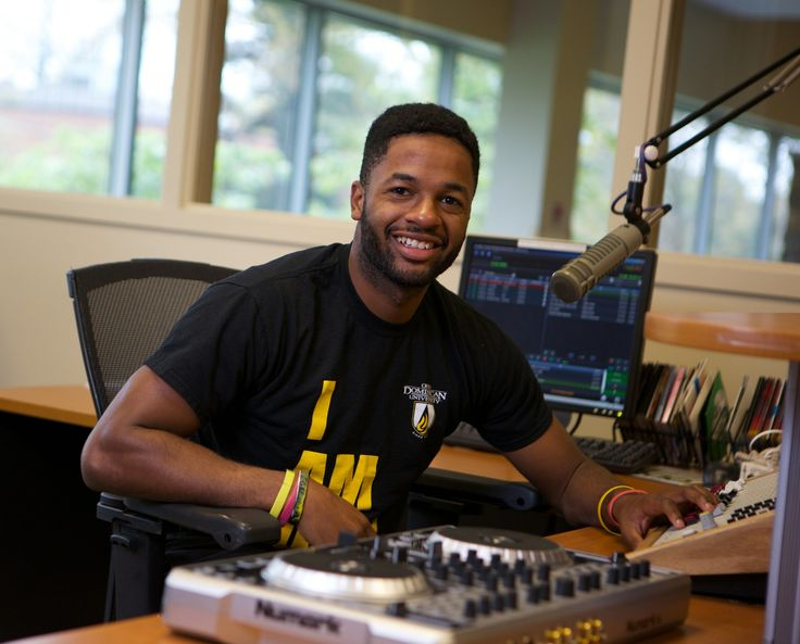 """""""It's an amazing feeling to be involved in something at ODU and watch it grow into something bigger."""" - Malik Tuck '15 RADIODU, Panther Krazies and Track, Public Relations Major http://www.ohiodominican.edu/future-students/who-we-are/odu-stories/"""