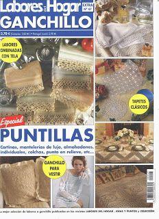 Revista: Labores del Hogar: Ganchillo y Puntillas | Revistas: Tejidos y Manualidades