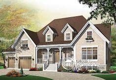 Plan de maison no. W3434 de dessinsdrummond.com