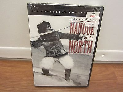 Nanook of the North (DVD, 1999, The Criterion Collection)  NEW