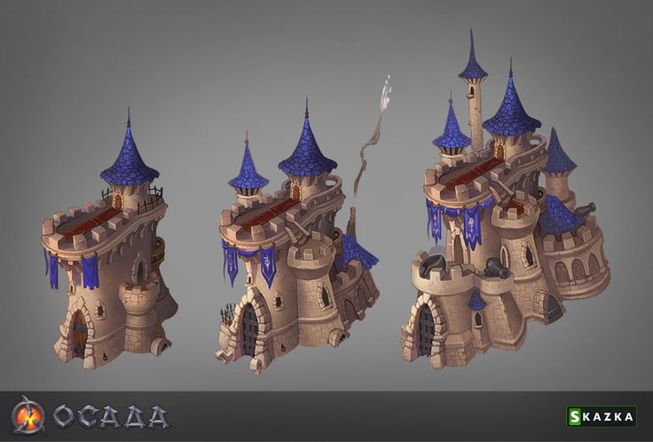 Siege. Castle by ~Gimaldinov on deviantART