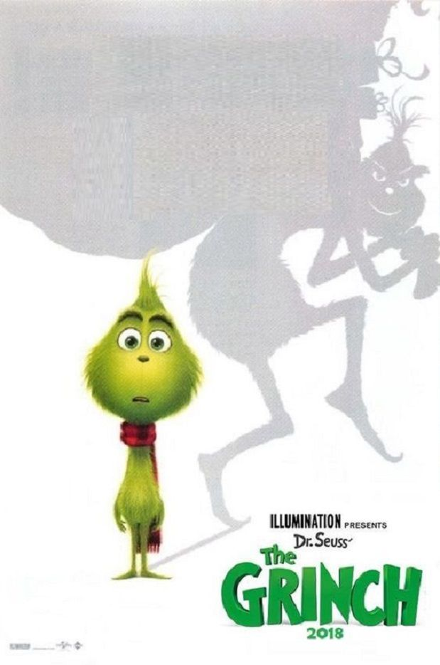 How The Grinch Stole Christmas 1966 Movie Poster.The Grinch Dr Seuss How The Grinch Stole Christmas