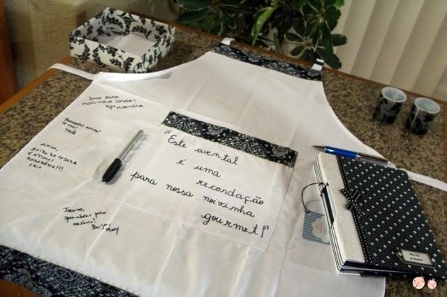 Cha de lingeri- avental