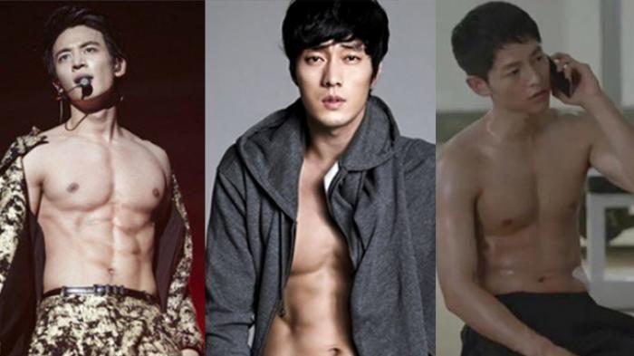 Perut Six Pack Seleb Korea - Wih, Mereka Buka Baju, Fans Bisa Menjerit Loh, Ada Apa?