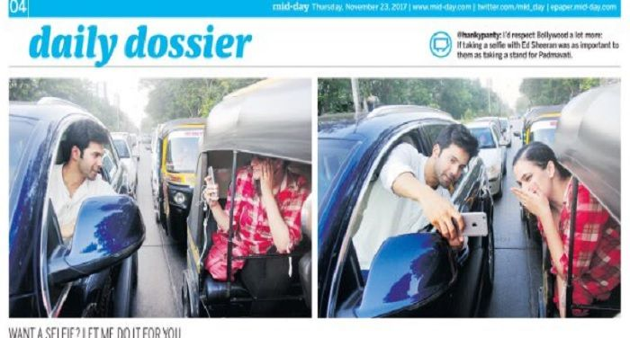 Janhi Khabar is the largest news network which provide latest news in hindi, varun dhawan adventurous selfie mumbai police lashes out police