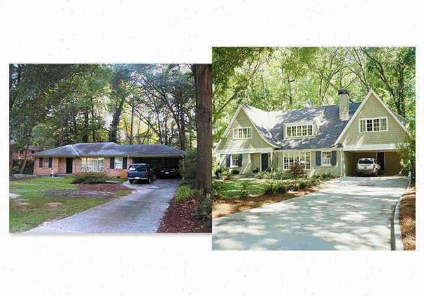 Blank Brick House Before and After http://www.bhg.com/home-improvement/exteriors/curb-appeal/before-and-after-home-exteriors/#