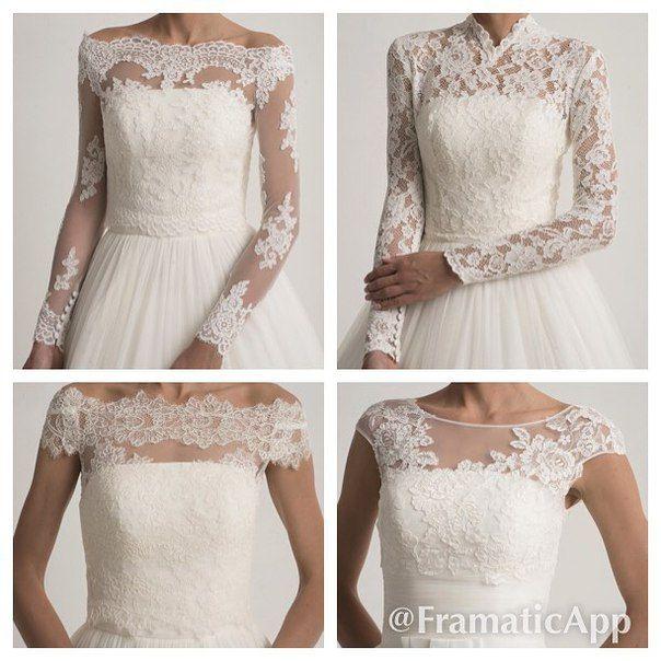 Свадебные болеро от #DOMINISS помогут дополнить ваш образ в #самыйлучшийдень !))