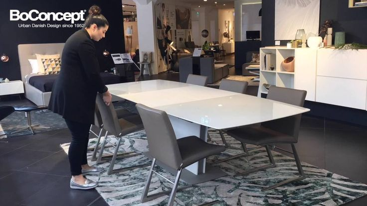 Milano Dining Table - How to extend and style - BoConcept Sydney