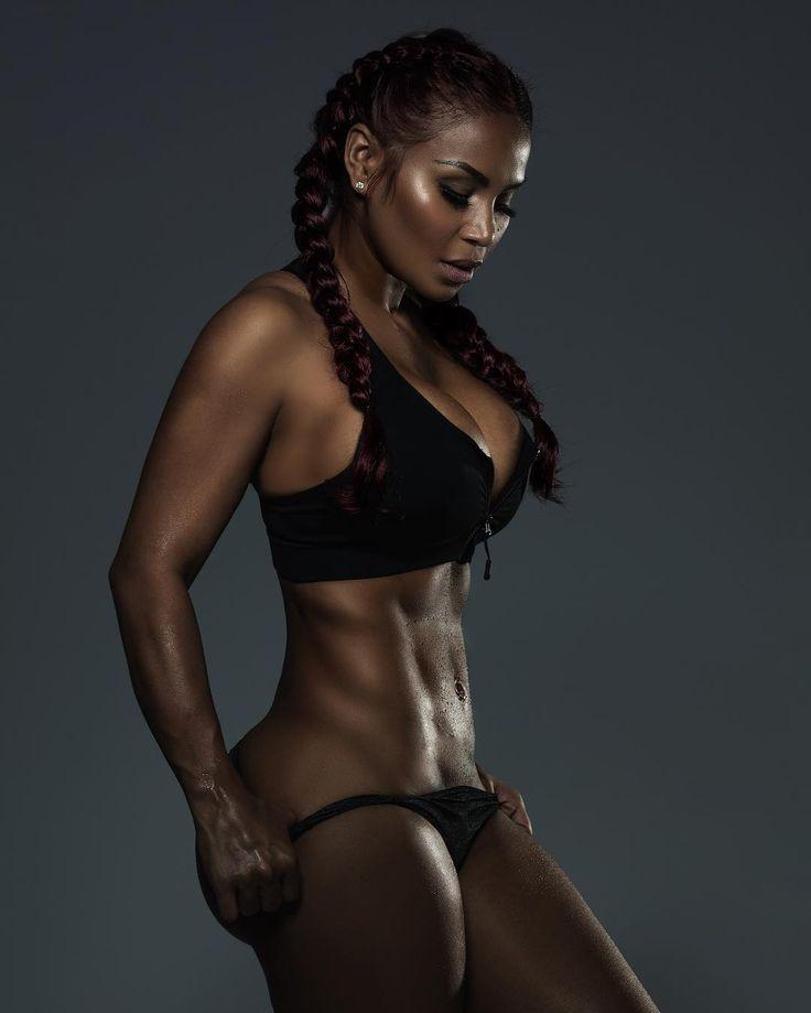 African gym girl — photo 8
