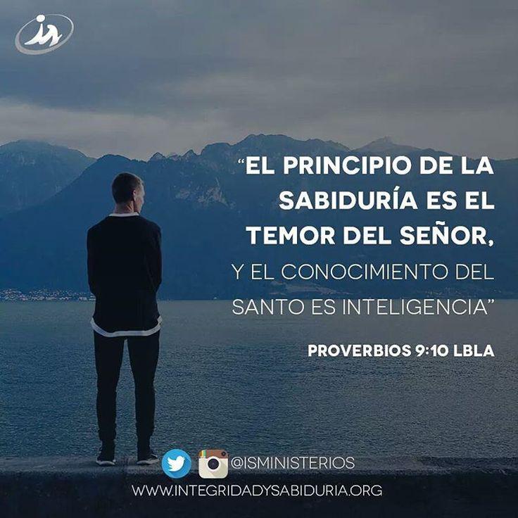 """""""El principio de la sabiduría es el temor del Señor"""" - Proverbios 9:10a #uneteLA"""
