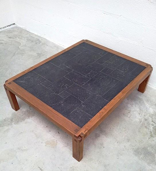 Pierre Chapo Gde Table Basse T 18 CHAPO