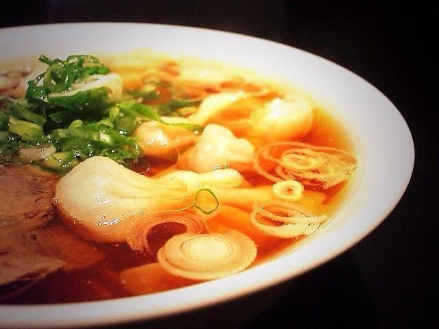 「雲呑麺」中華そば ずずらん