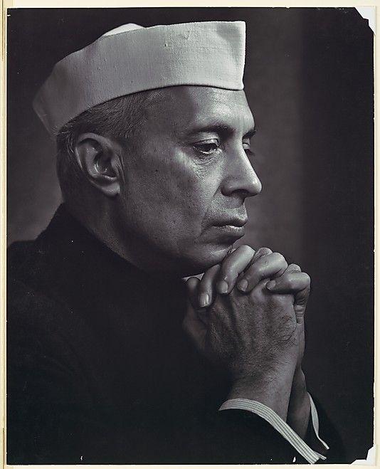 Jawaharlal Nehru  Yousuf Karsh  (Canadian (born Armenia), Mardin 1908–2002 Boston, Massachusetts)