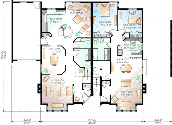 European Style House Plans   4397 Square Foot Home, 2 Story, 6 Bedroom And