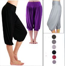 2014 Fashion Summer Women's Ladies Modal Harem Capris Elastic Waist Short Pants Wide Leg Warmer Belly Dance Boho Trousers     Tag a friend who would love this!     FREE Shipping Worldwide     #Style #Fashion #Clothing    Get it here ---> http://www.alifashionmarket.com/products/2014-fashion-summer-womens-ladies-modal-harem-capris-elastic-waist-short-pants-wide-leg-warmer-belly-dance-boho-trousers/