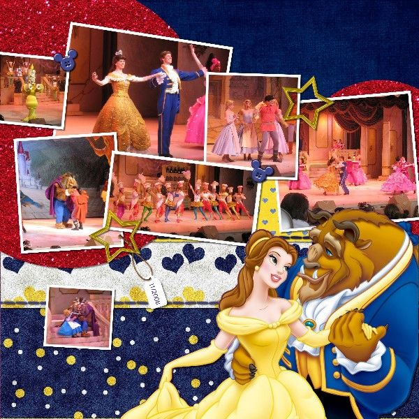 Beauty and the Beast: Scrapbook Ideas