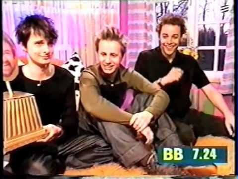 "Muse - rare live UK TV interview, promoting the release of Sunburn on Big Breakfast, Channel 4. From ""TV Appearances"" Mushroom VHS Promo (Sorry for the poor ..."