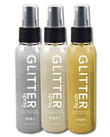 YOFI Body Glitter Spray | $8 | #DDAccessories #YofiCosmetics
