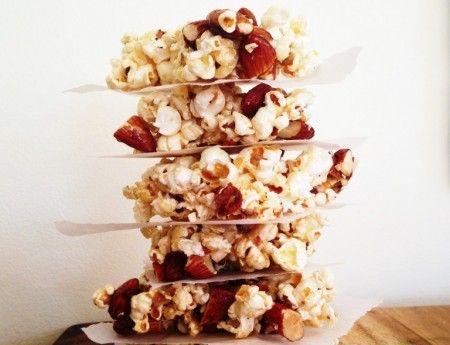 Popcorn and Almond Crunch