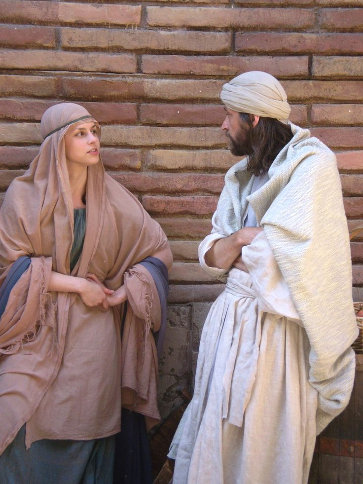 "Rosa Hoskins as Hephzibah and Stephen Mapes as Mordecai film ""The Slave-girl from Jerusalem"" at Boyana Studios, Bulgaria, Sept 2007"