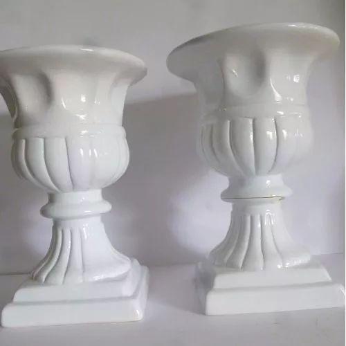 Par De Vaso Grego Grande, Festa Casamento Decoração Ceramica - R$ 70,00