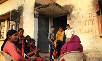 Familielivet betyder meget i Indien