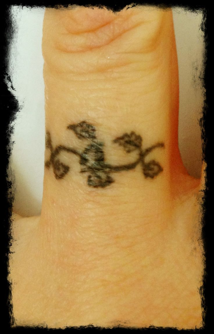 55 romantic wedding ring finger tattoo designs and ideas - Best Ideas About Tattoos Rings Ivy Tattoos And Wedding Ring Tattoos