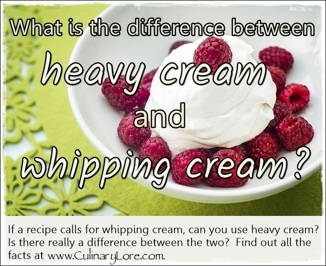 how to say heavy whipping cream in french