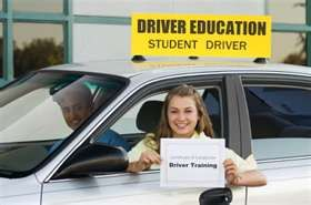 Drivers ed! It was a class in school. I still remember my teachers name, Mr. Wigglesworth!!! He was also the Boys wrestling coach!!!