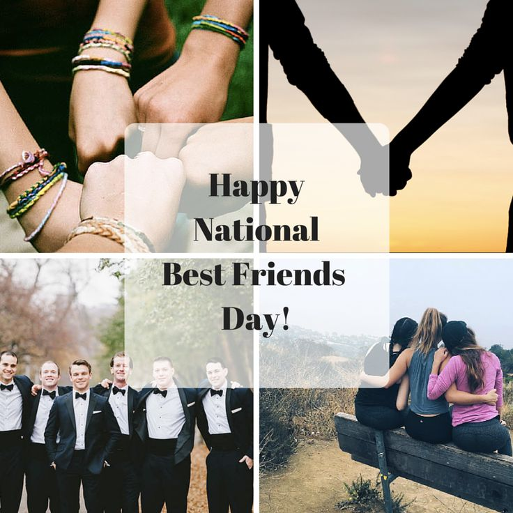 Get ready for National Best Friends Day on June 8th 2016! Here are a few fun activities to do with your friends on this special day.