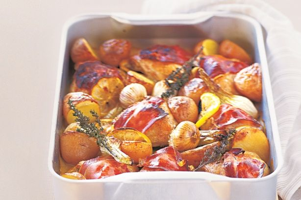 Looking for healthy meal ideas? This family friendly chicken dinner is simple and full of flavour.