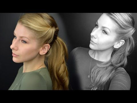 The Age of Adaline   Twisted Ponytail Hair Tutorial   Twirlerica - YouTube
