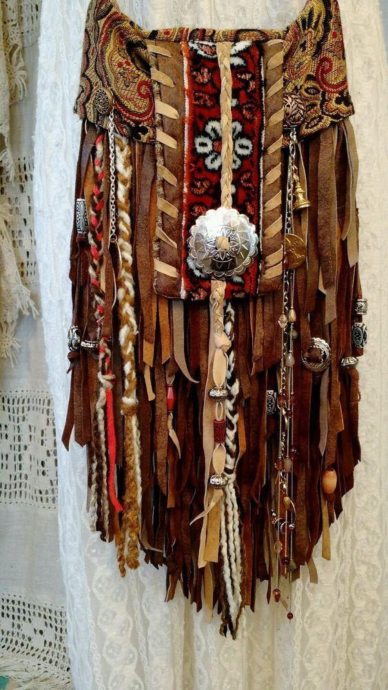 Flecos De Cuero Marrón Hecho a Mano Cartera Bolso cuerpo transversal Hippie Boho Hobo Gypsy tmyers | Ropa, calzado y accesorios, Carteras y bolsos de mujer, Carteras y bolsos de mano | eBay!