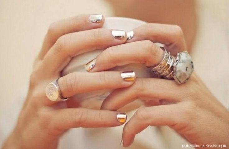 модные серебряные кольца - Поиск в Google