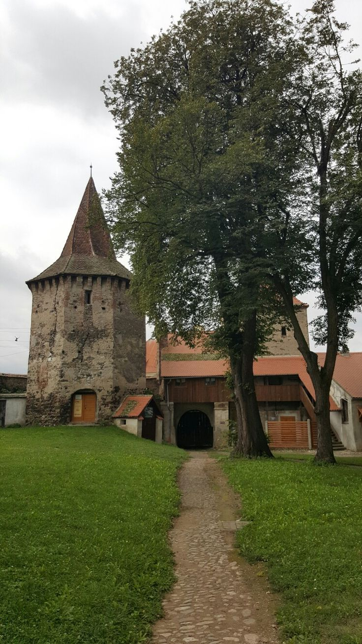 Turnul slăninii, Biserica fortificata, Cristian, Marginimea Sibiului, Sibiu, România