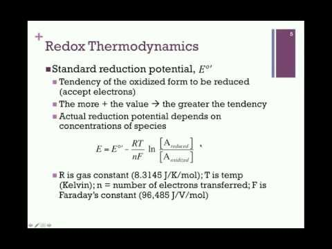 105-Free Energy of Electron Transfer