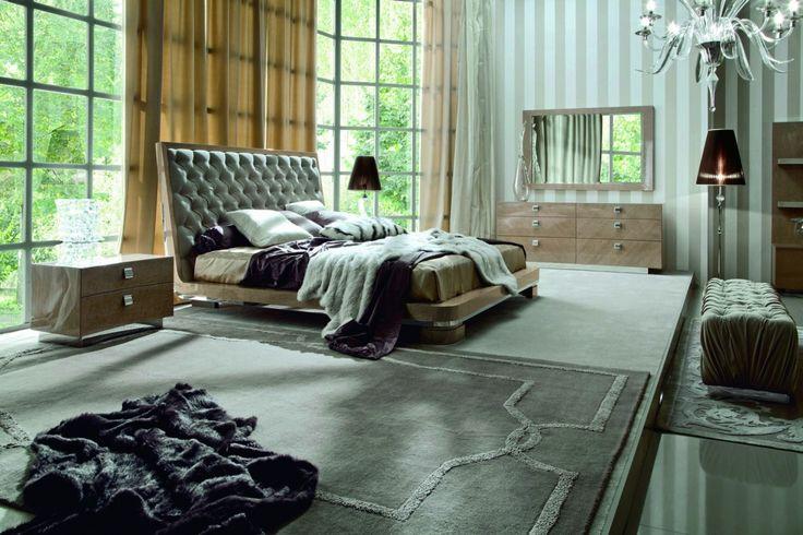 Sunrise Cal King Size Bed |Modern Bedroom | Los Angeles