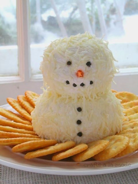 If you are looking for a last minute Christmas party appetizer to serve to your guests, this cute little snowman cheese ball might be just t...
