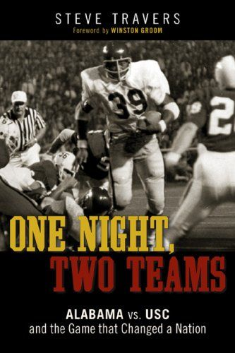 """One Night, Two Teams: Alabama vs. USC and the Game That Changed a Nation:   In the sweltering heat of September of 1970 on Legion Field, the USC Trojans and the University of Alabama's Crimson Tide played a game that defined the emancipation of the South from its sordid history of racial segregation. When USC's black running back Sam """"The Bam"""" Cunningham ran roughshod all over the all-white Crimson Tide, more than a football game was won. Based on interviews with many of the game's par..."""