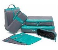HOOCI Almacenamiento Bolsa 7 piezas Set Bolsas de Viaje impermeables Nuevo 2014 Comercio al por mayor multifunción Ropa Bolsa de Protección del Medio Ambiente