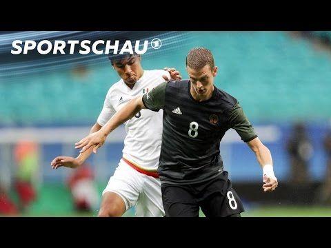 Fußball: Deutschland beweist gegen Mexiko Moral   Rio 2016   Sportschau…