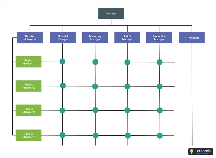 Simple Matrix Organizational Chart Template That U0026 39 S Popular