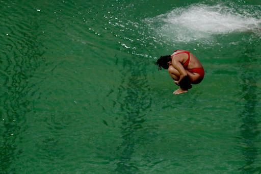 2016 Rio Olympic Diving Pool Closed Due to Green Water | Bleacher Report