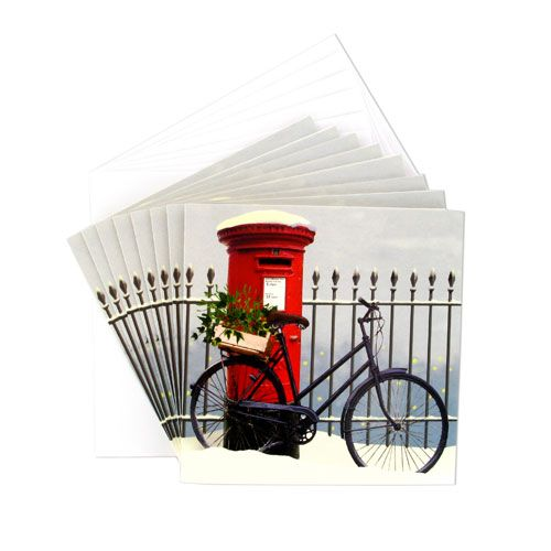 """Almanac Gallery"" Pillarbox Christmas cards at British Museum shop online"